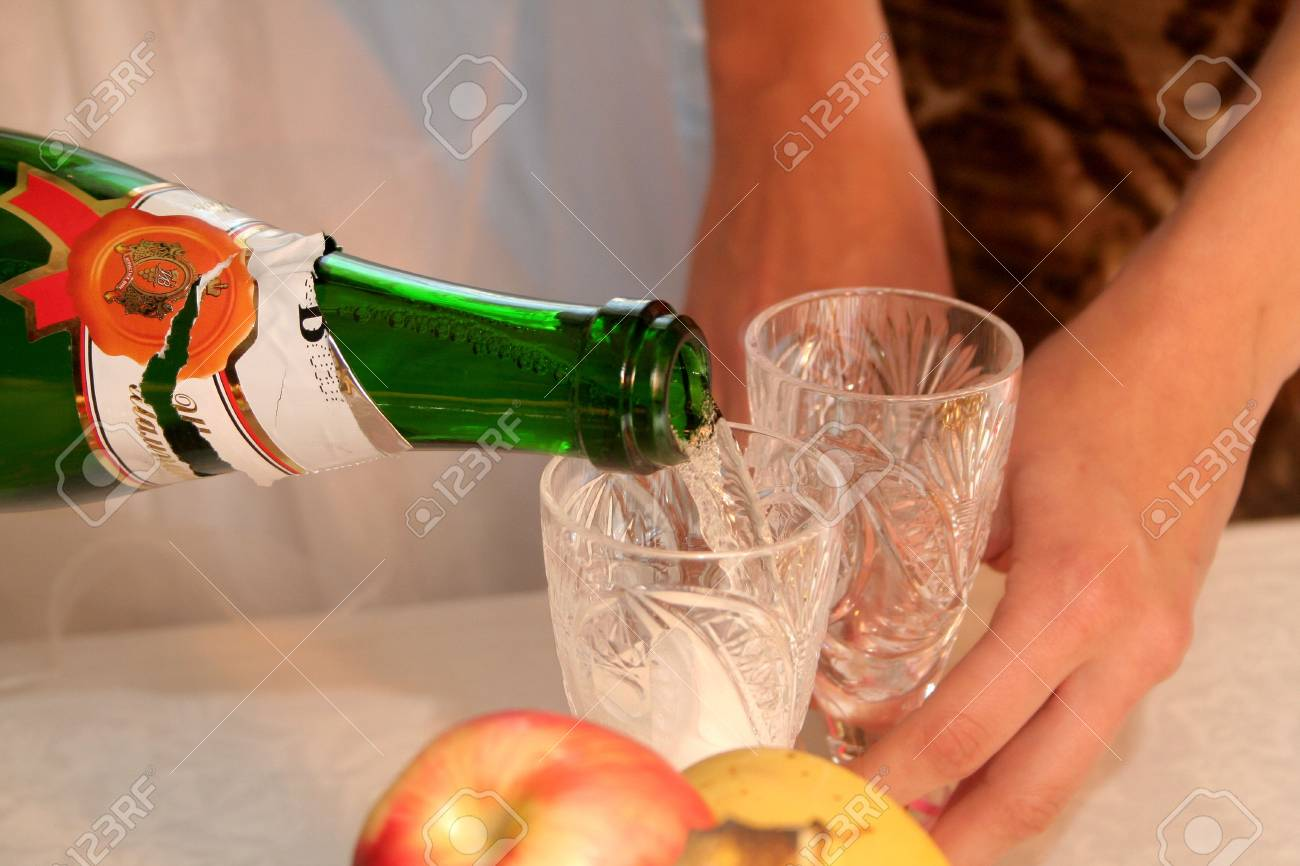 glasses for drink and eat Stock Photo - 1986882