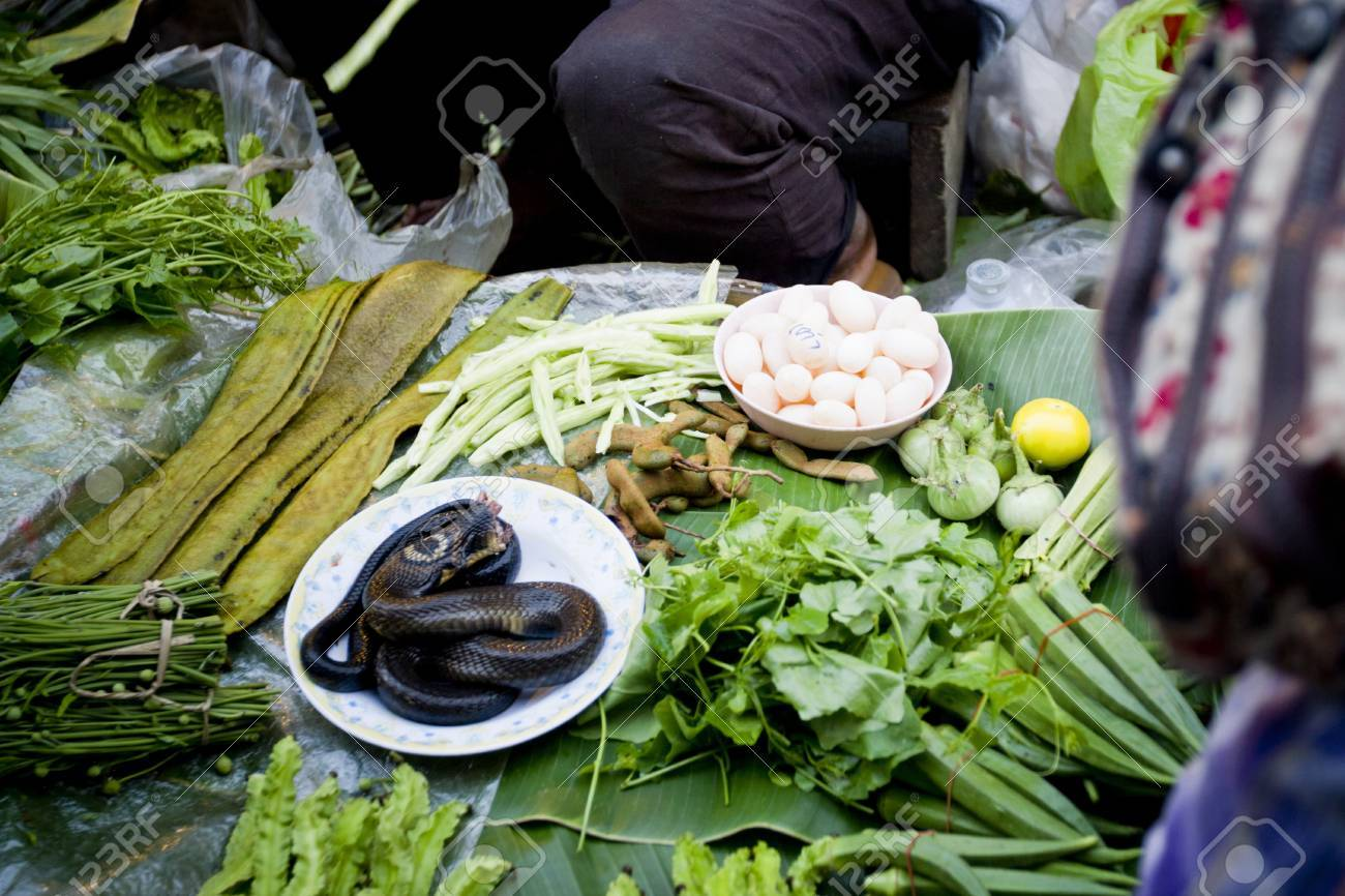 Phitsanulok, Thailand, Life way of the people in food morning market , 01 December 2012 Stock Photo - 17393243