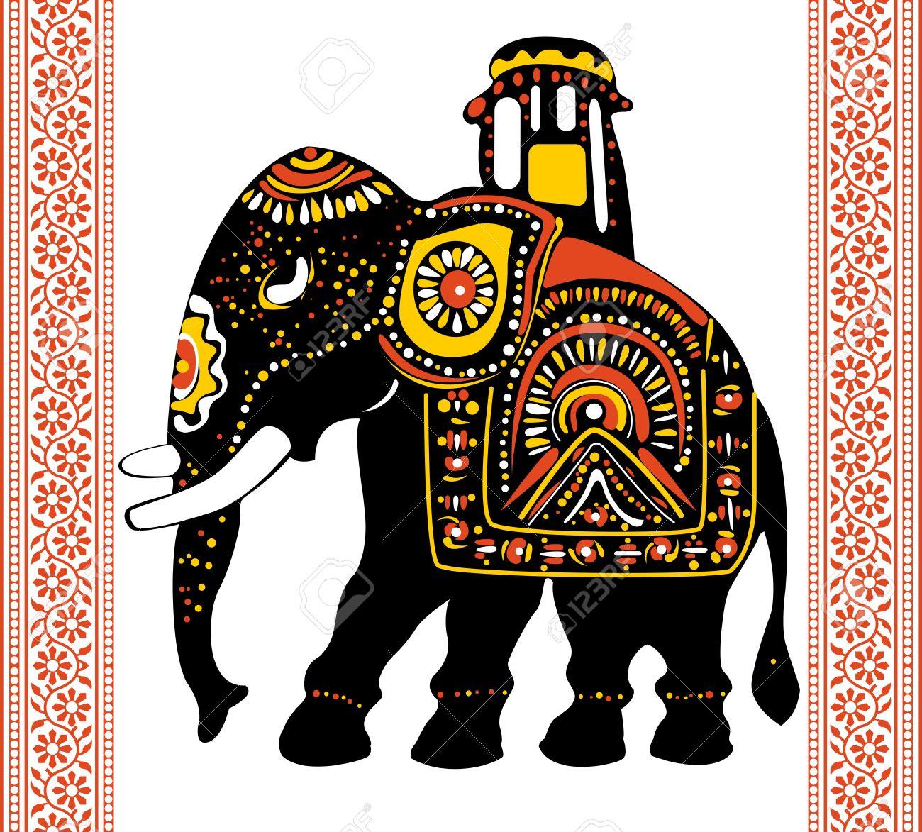 Vector of Festive indian elephant Stock Vector - 12485996