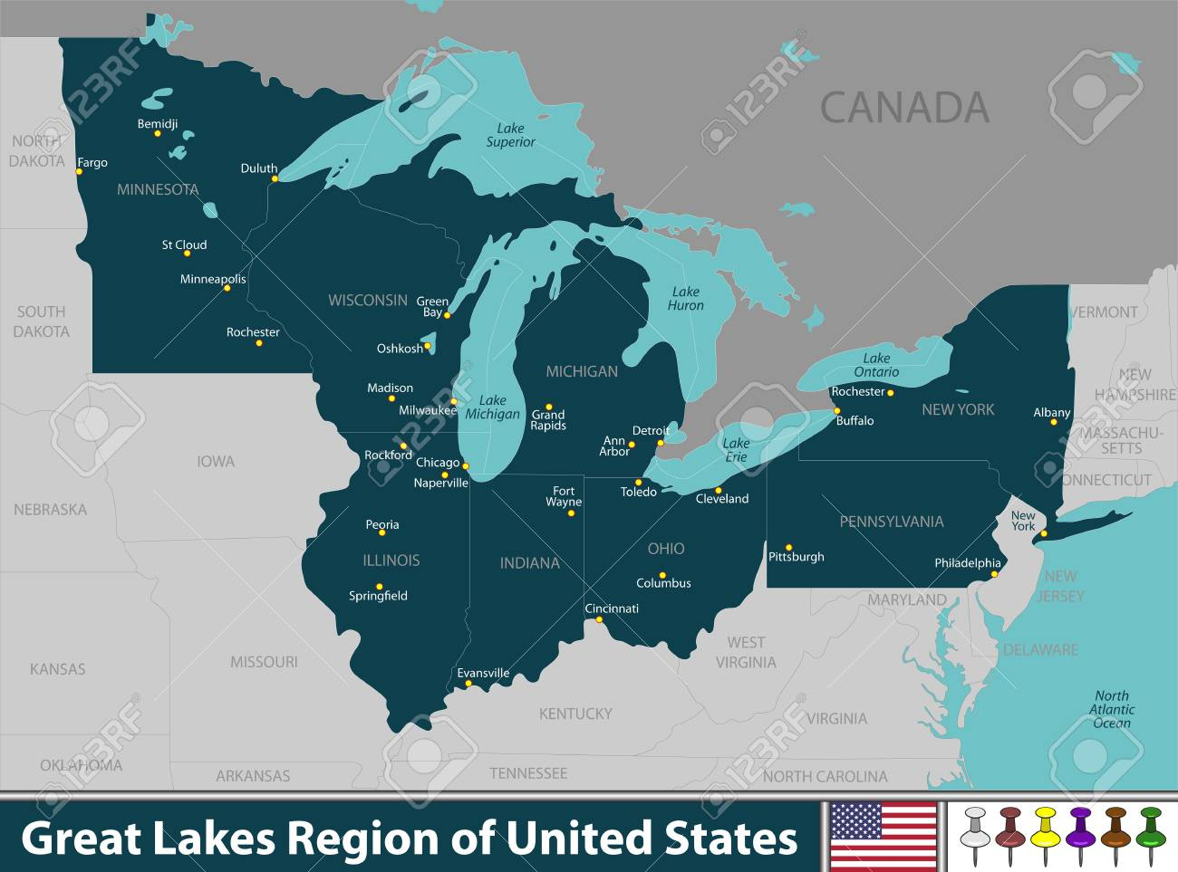 United States Great Lakes Map on rocky mountains united states map, west central united states map, great lakes map with states, great lakes states outline map, atlantic ocean united states map, colorado river united states map, big united states map, gulf coast united states map, gulf of mexico united states map, toronto united states map, the northeast united states map, rio grande united states map, gulf of alaska united states map, great lakes florida, lake tahoe united states map, great lakes google maps, appalachian mountains united states map, major rivers united states map, lake michigan united states map, lake erie united states map,