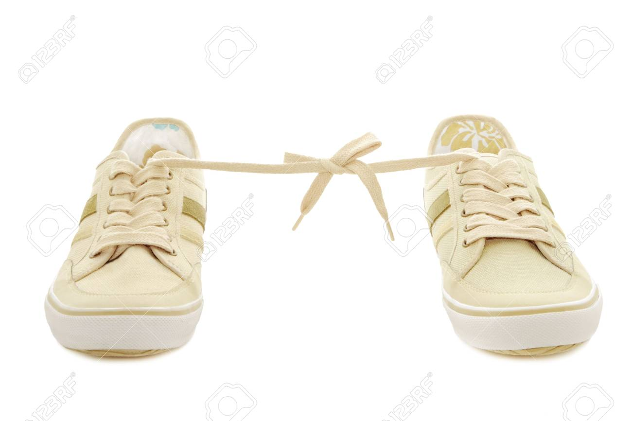 Sneakers isolated on a white background Stock Photo - 6610822