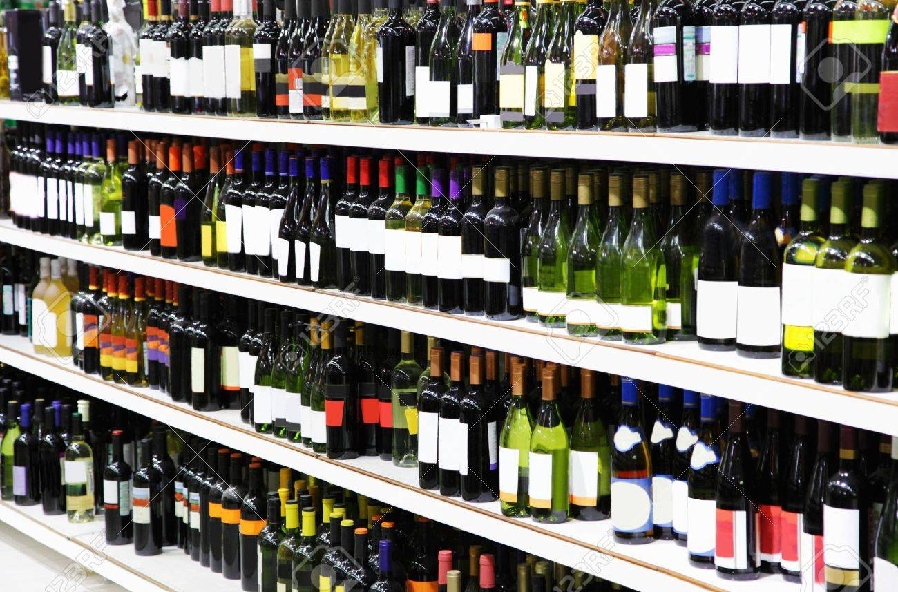 Wine shop Stock Photo - 6624964