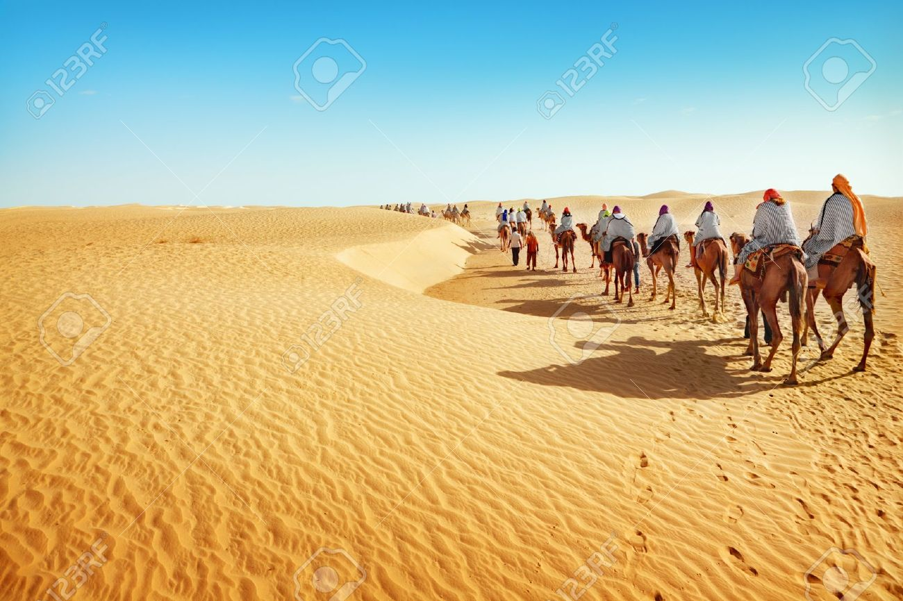 people in the sahara desert stock photo picture and royalty free