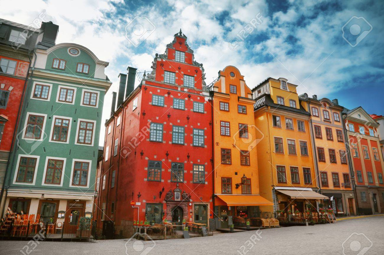 Stortorget place in Gamla stan, Stockholm - 20209752