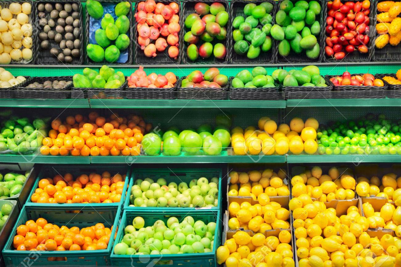 Fruits in supermarket - 22689759