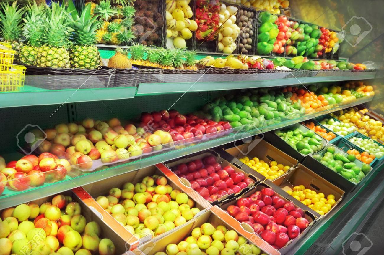 Fruits in supermarket - 22689760