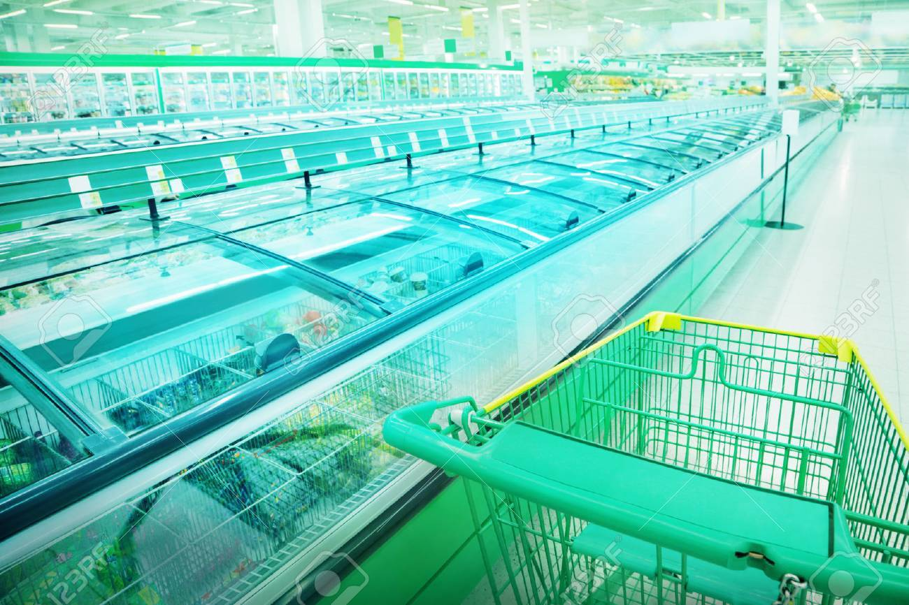 Various products in a supermarket - 23042399