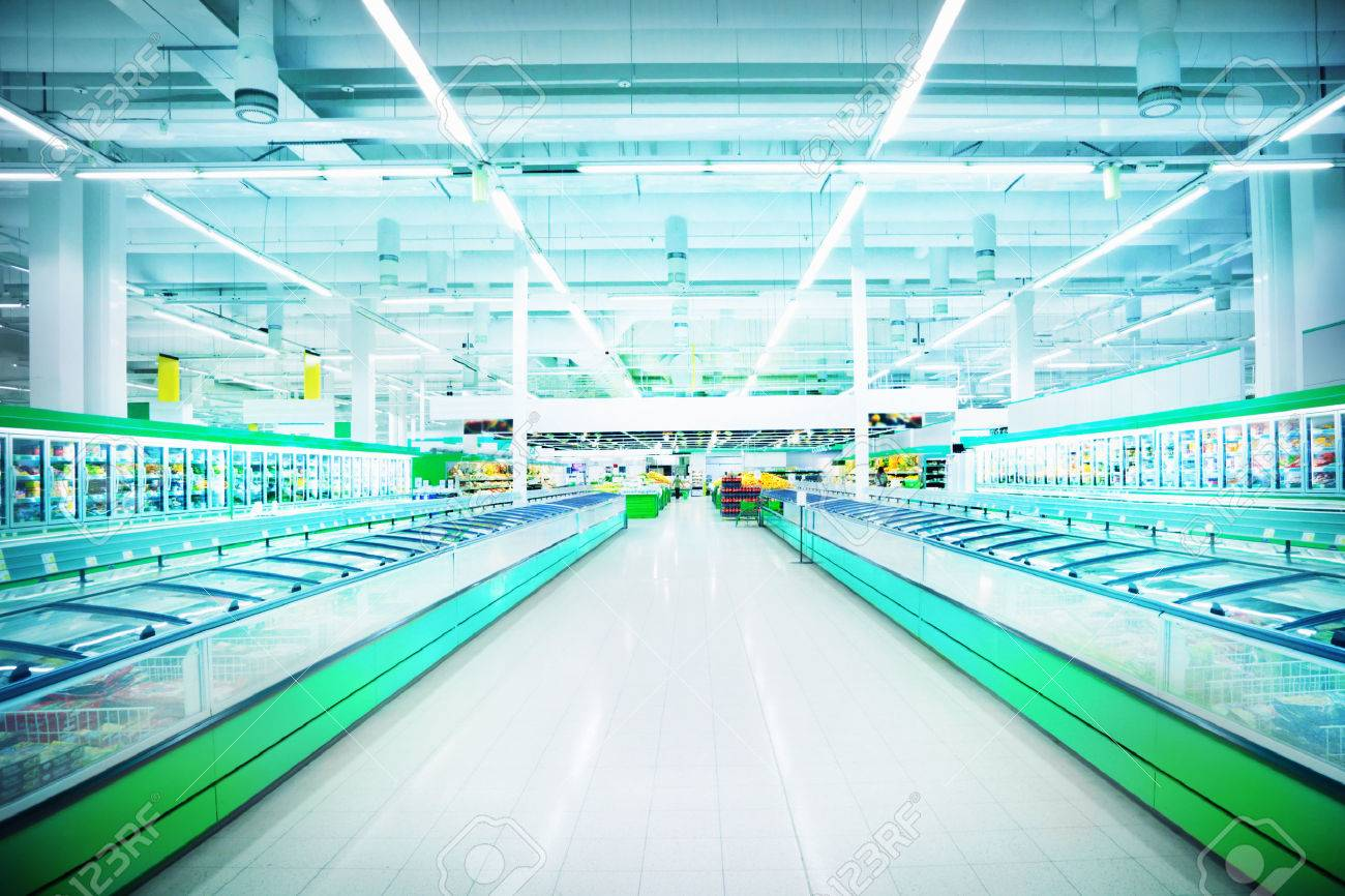 Various products in a supermarket - 23042406