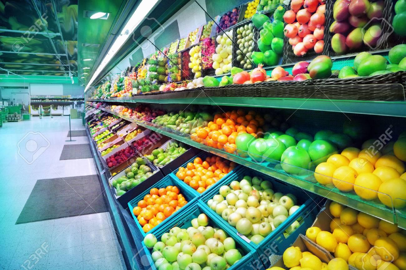 Fruits in supermarket - 23049718