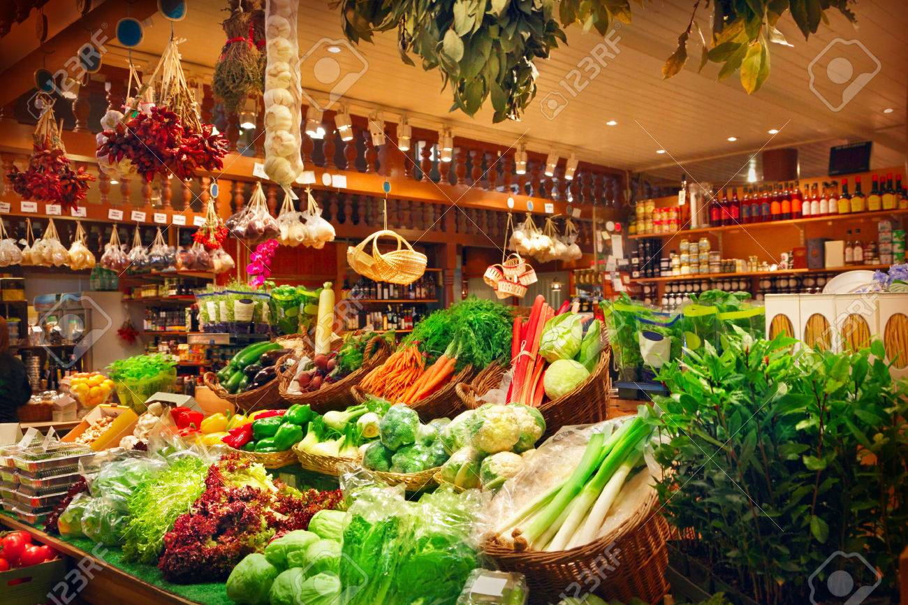 Vegetables at a market stall - 32331937