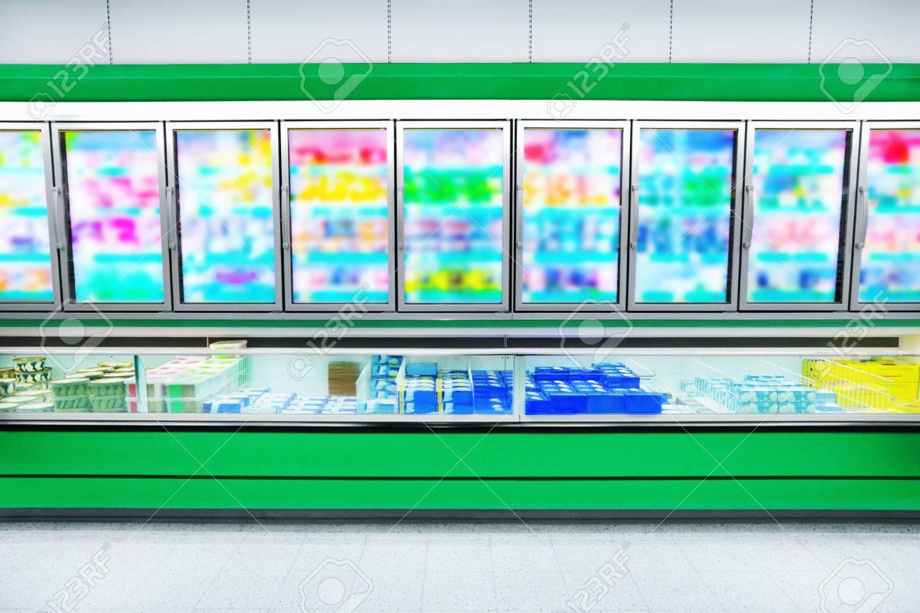 Frozen Foods in a supermarket - 35966855