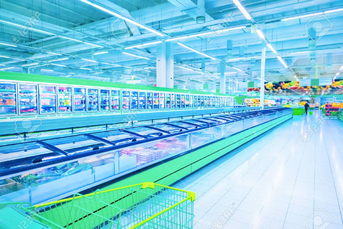 Various products in a supermarket - 37753843