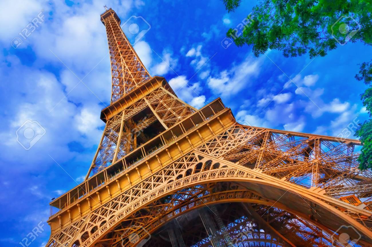 The Eiffel Tower in Paris - 39341999