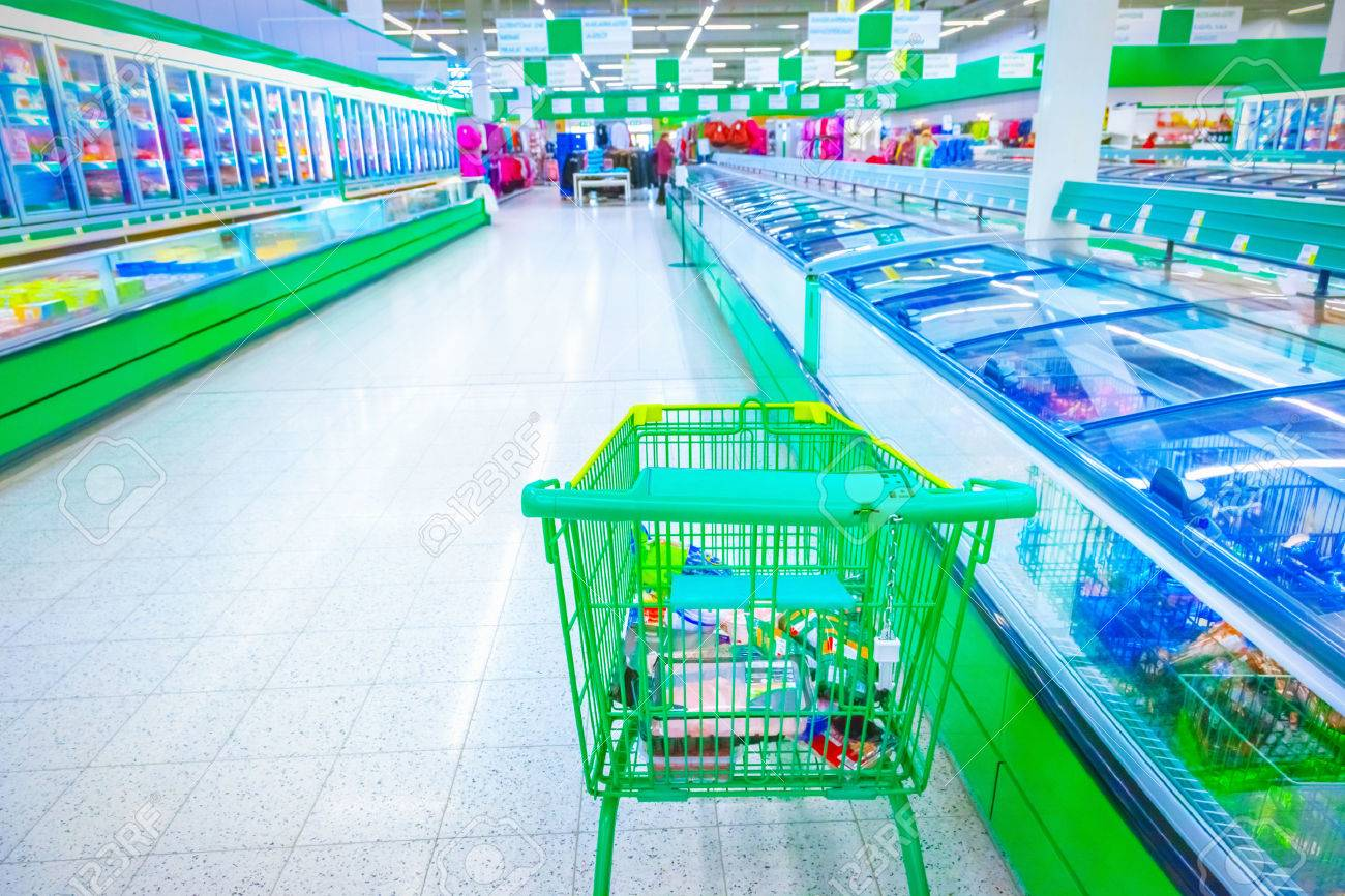 Various products in a supermarket - 39342066