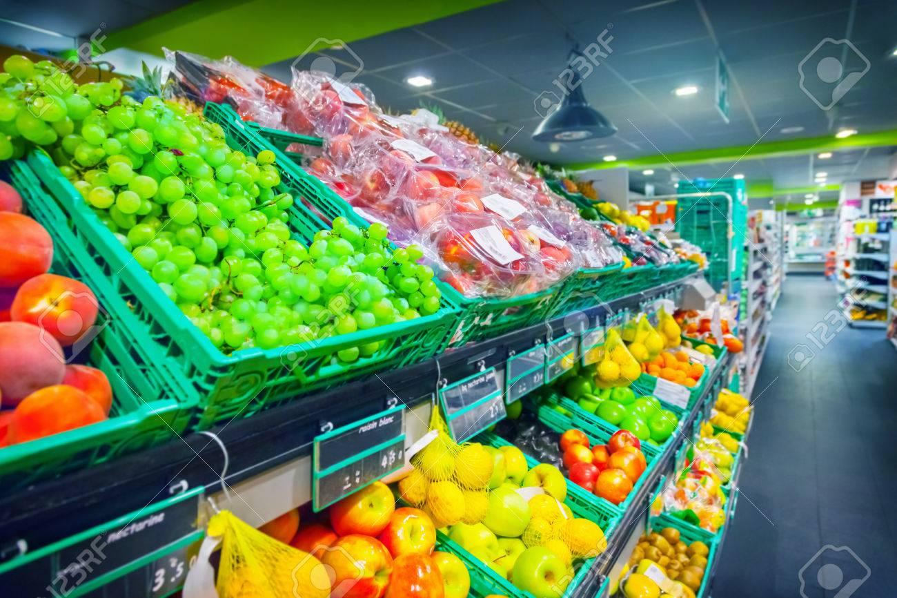 Fruits in supermarket - 46775300