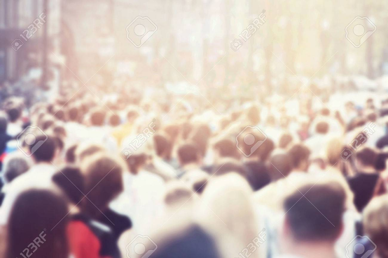 Crowd of people Stock Photo - 47751500