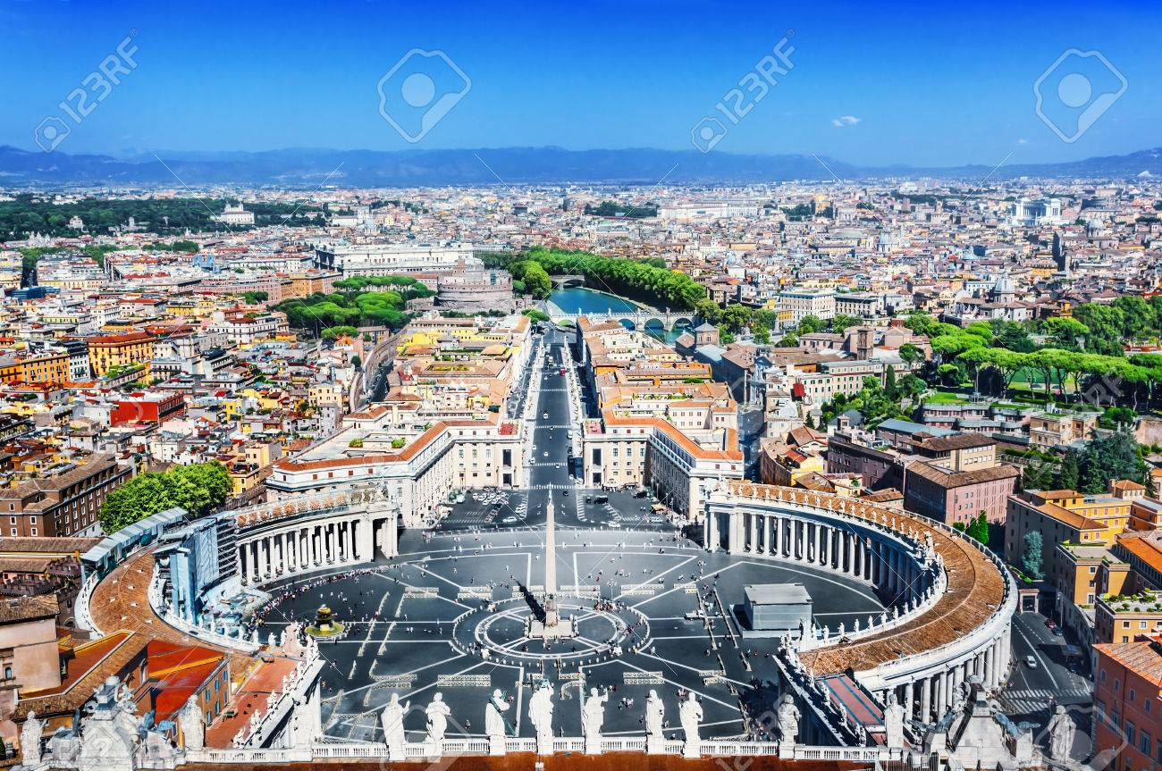 View of the Saint Peter's Square - 48003423