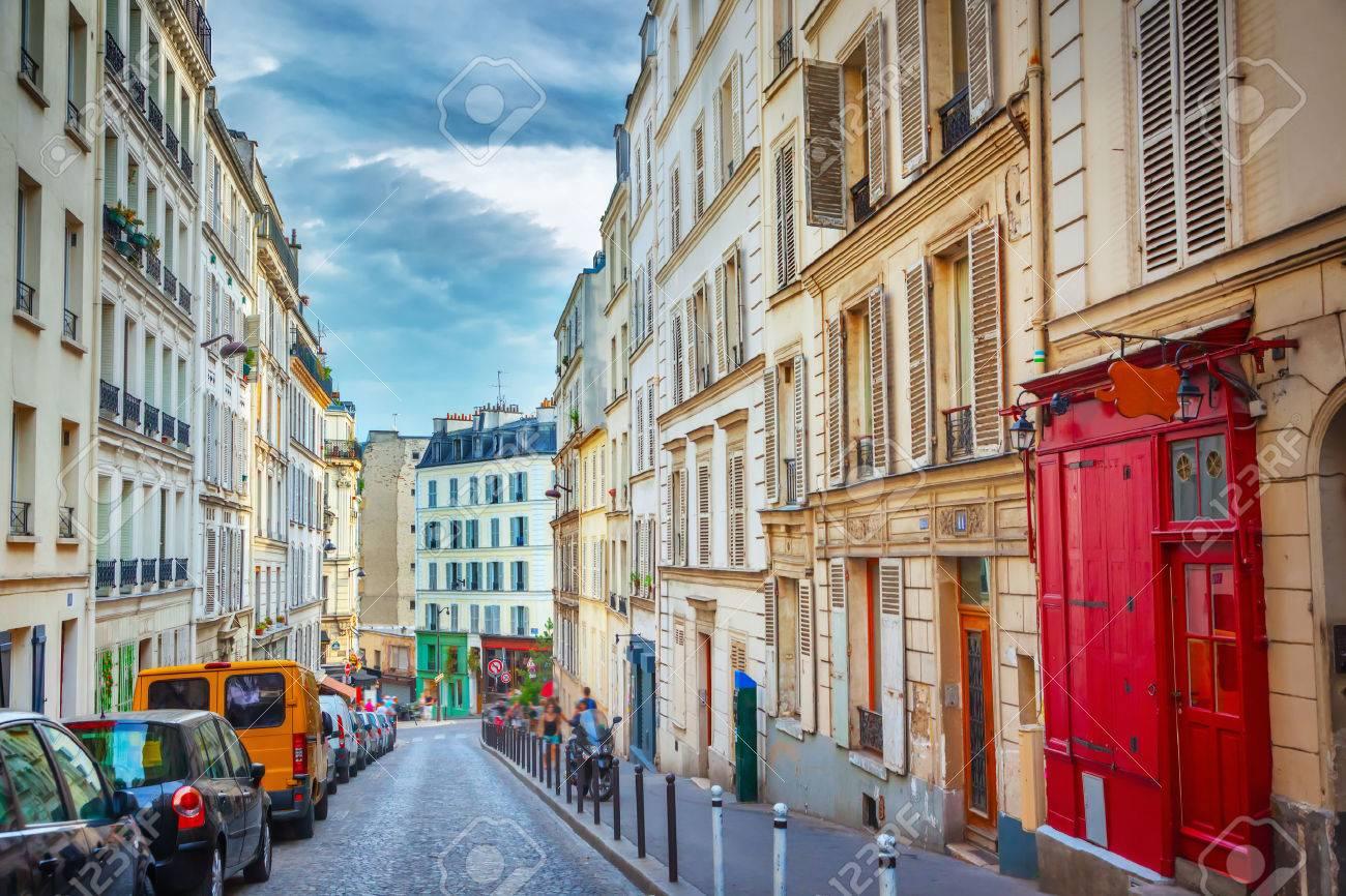 Montmartre in Paris - 48449318