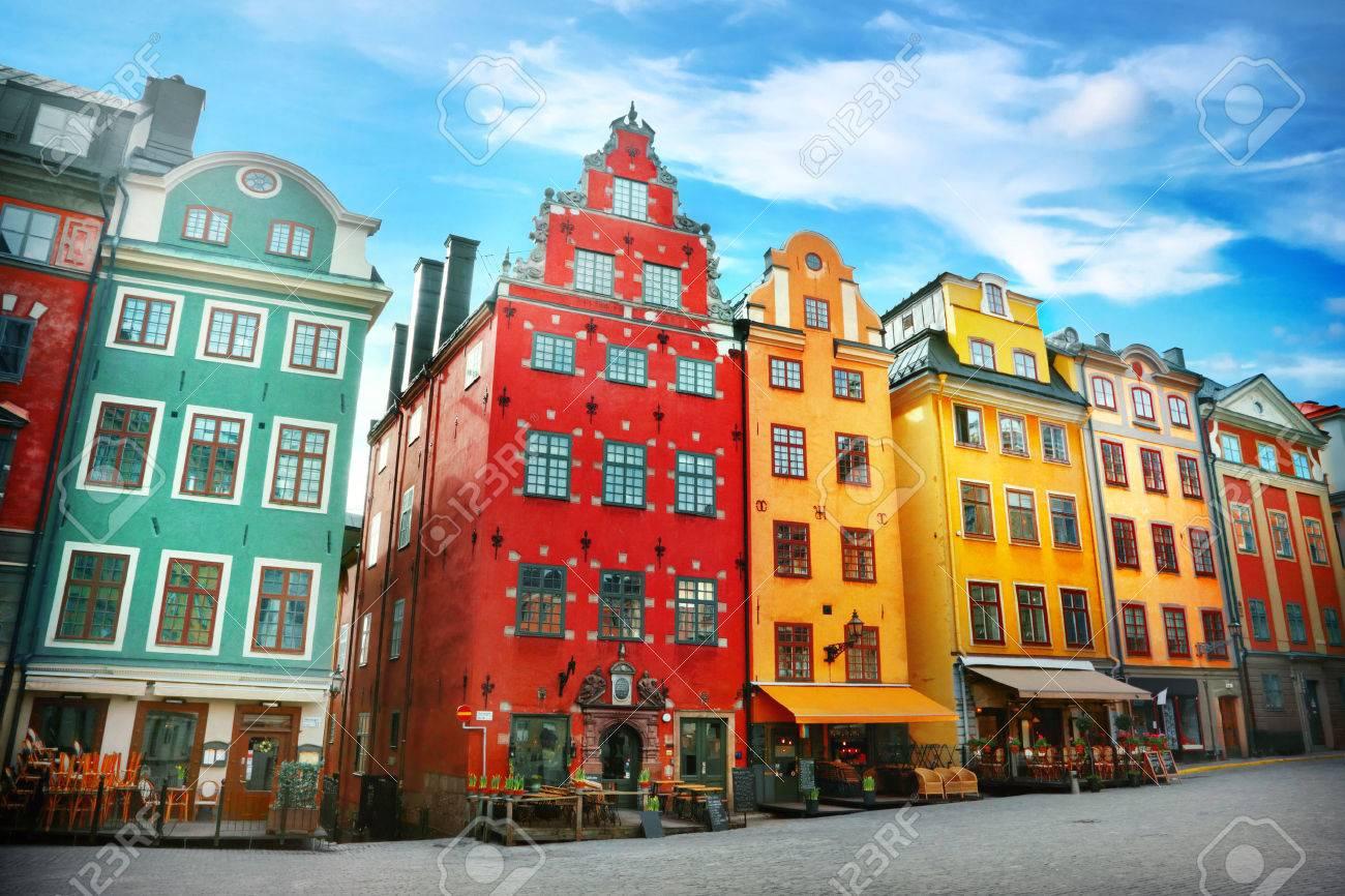 Stortorget place in Gamla stan, Stockholm - 51057151