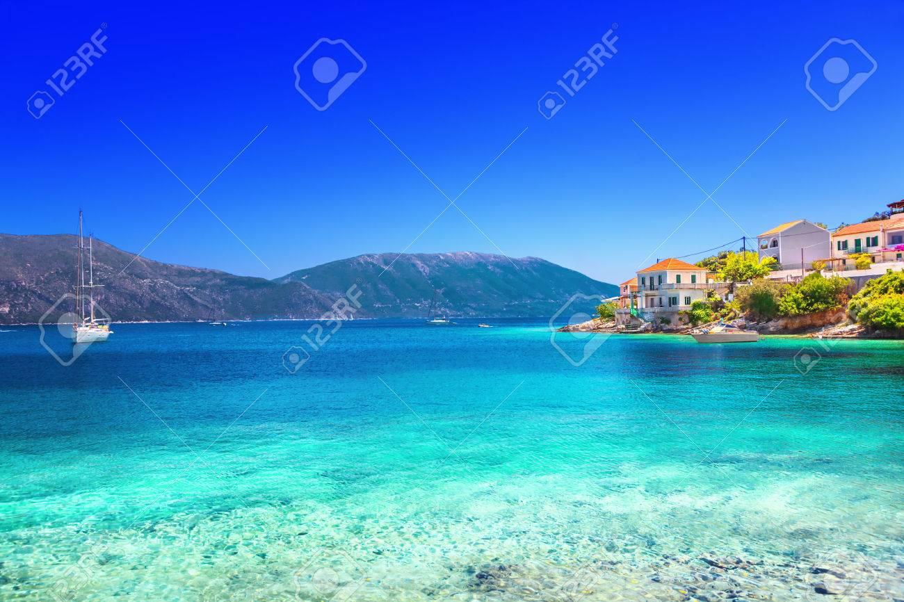 Fiskardo village, Kefalonia island, Greece - 54401999