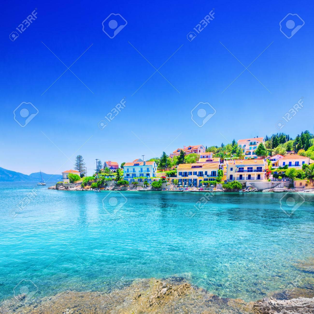 Fiskardo village, Kefalonia island, Greece - 57652380