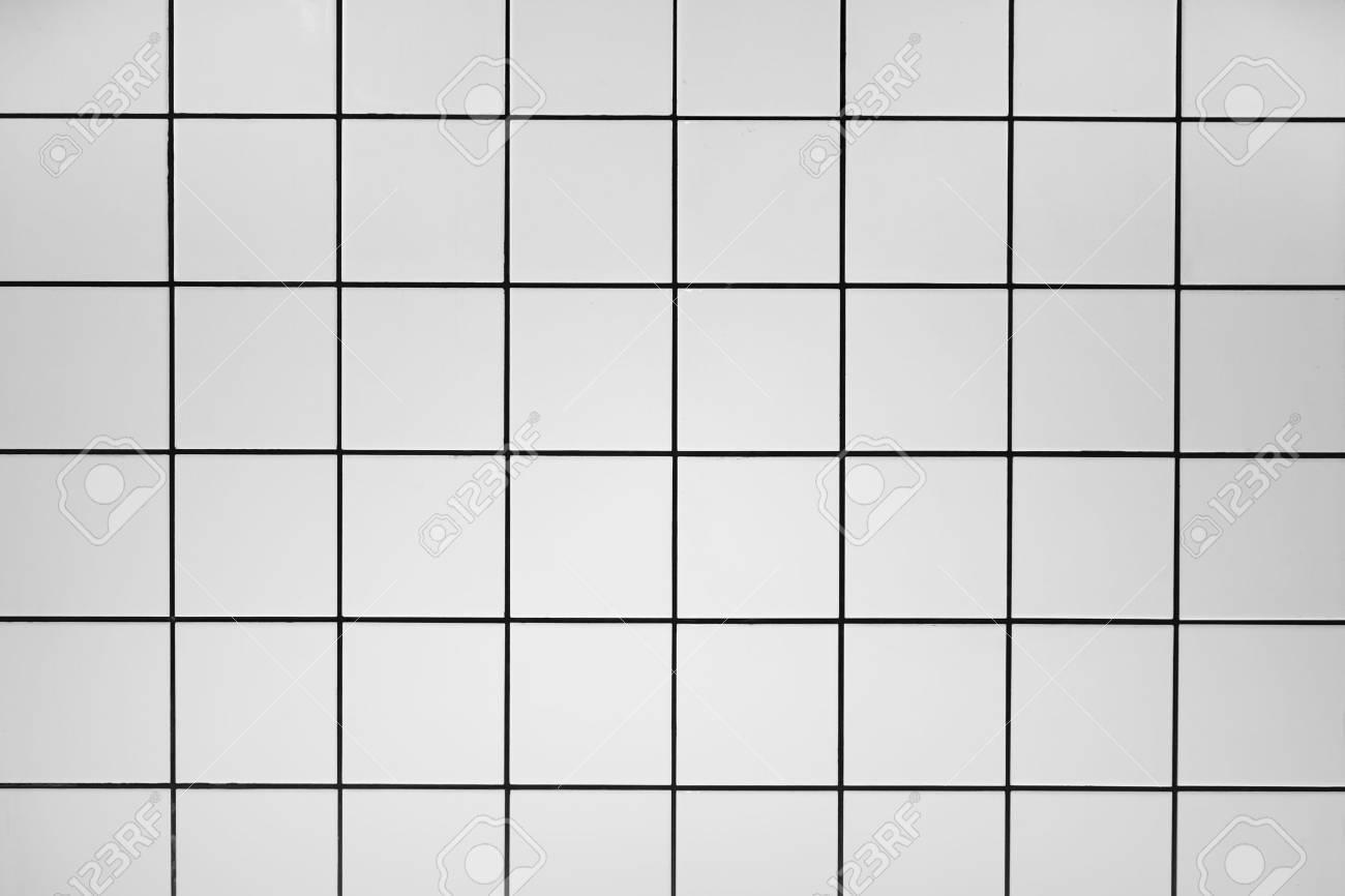 White tiles - 57652594