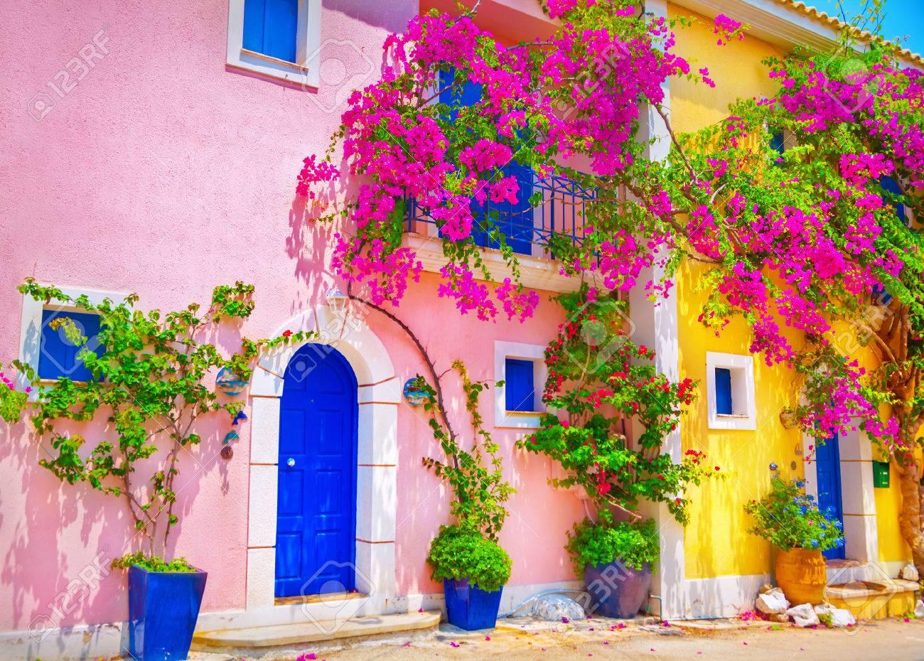 Street in Kefalonia, Greece - 59789969