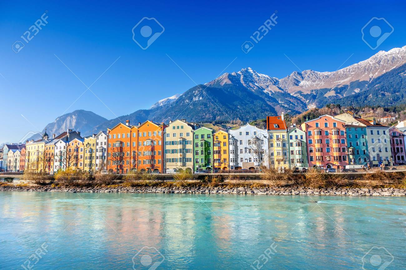 Innsbruck cityscape, Austria - 70998779