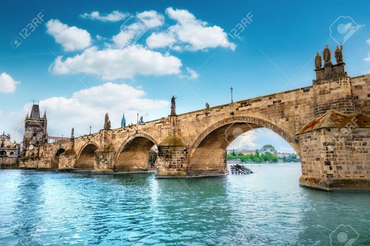 Charles Bridge, Prague, Czech Republic - 80304624