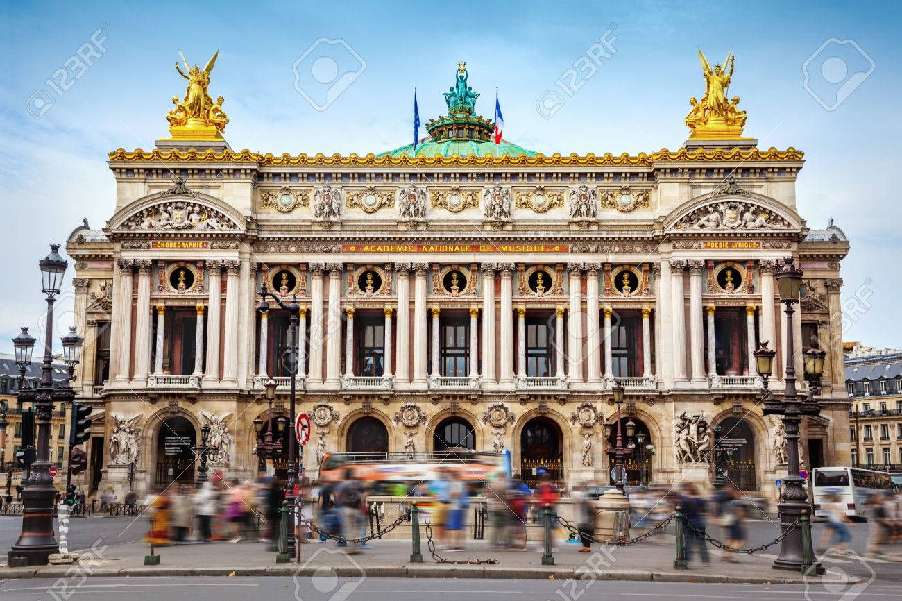 Opera Garnier in Paris - 80486502