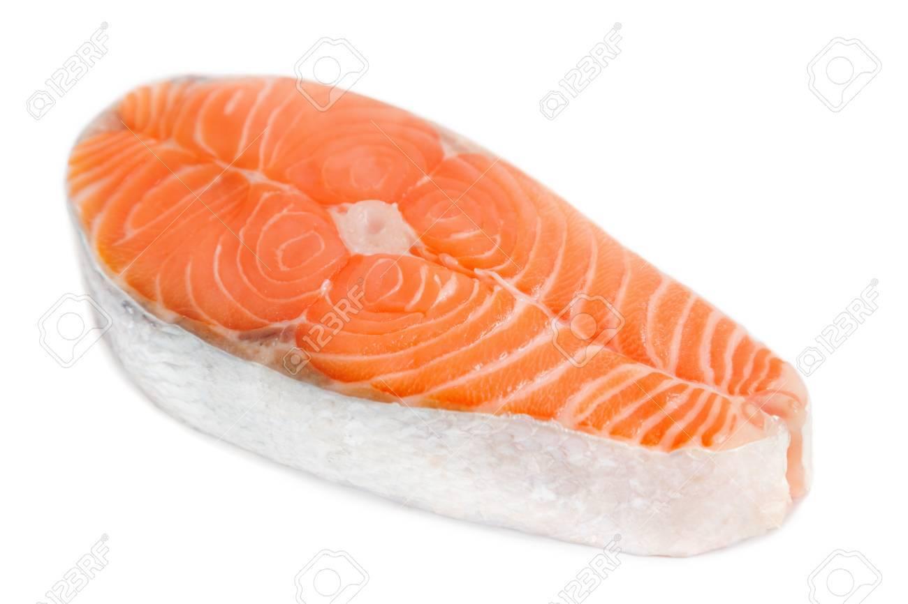 Salmon steak - 84703676