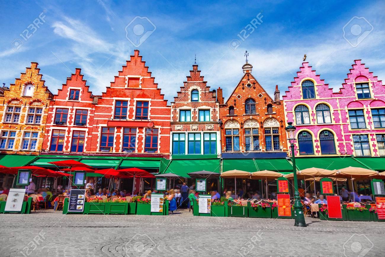 Grote Markt square in Brugge - 87397002