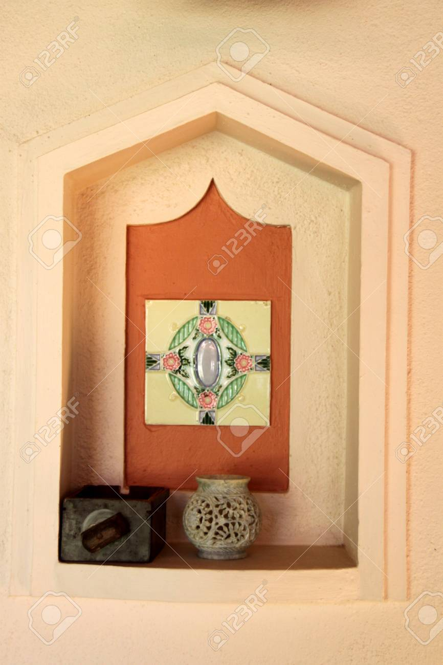 Fantastic Decorative Wall Niche Illustration - Wall Art Collections ...