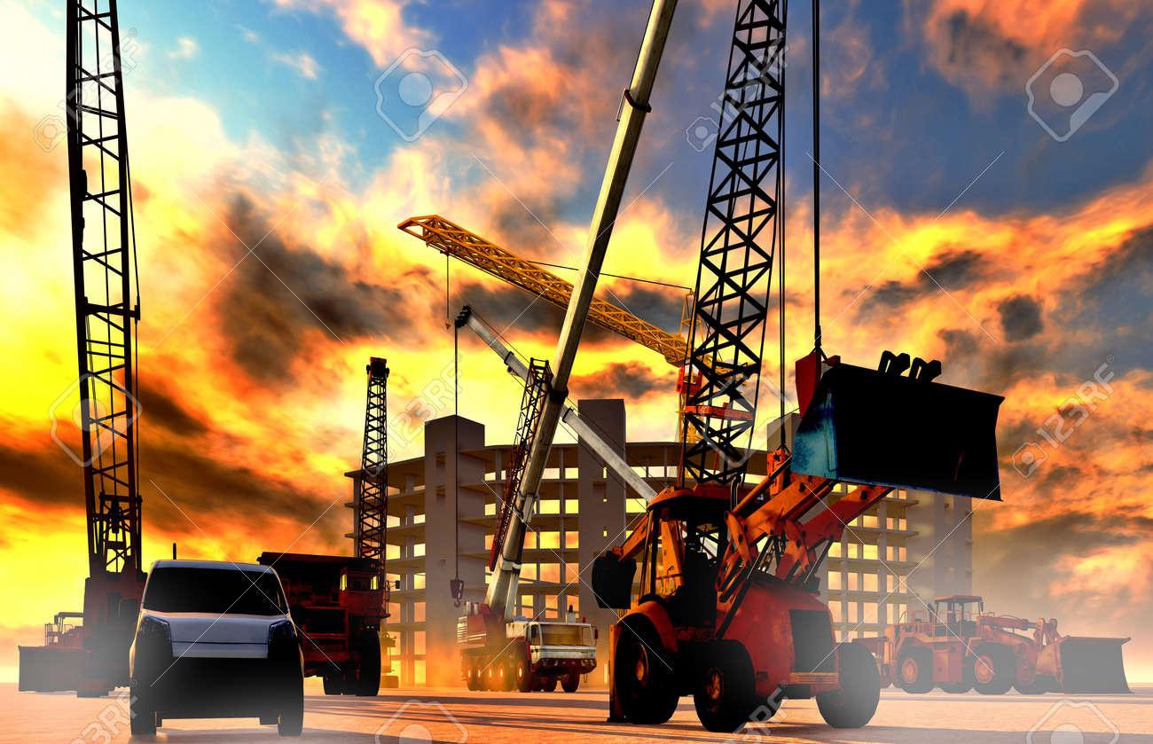 Construction site - 15891071