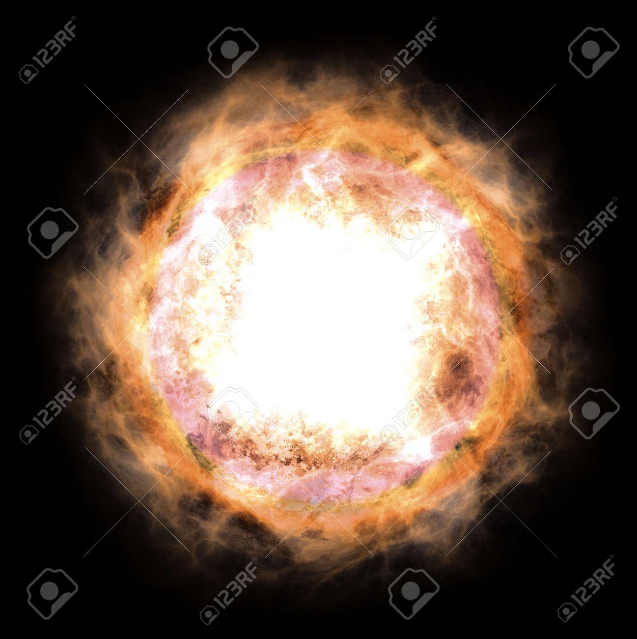 Bright star Stock Photo - 16492439