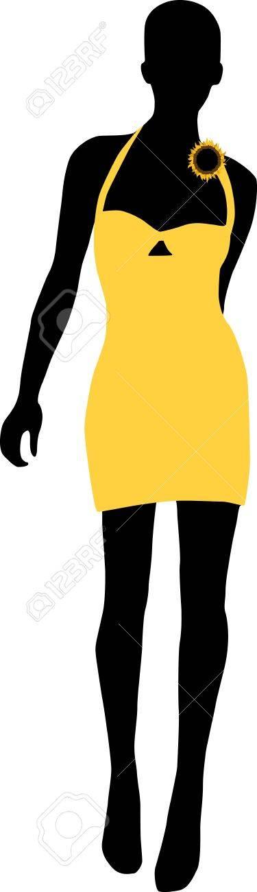 Vector - Silhouette fashion girls - 11453379