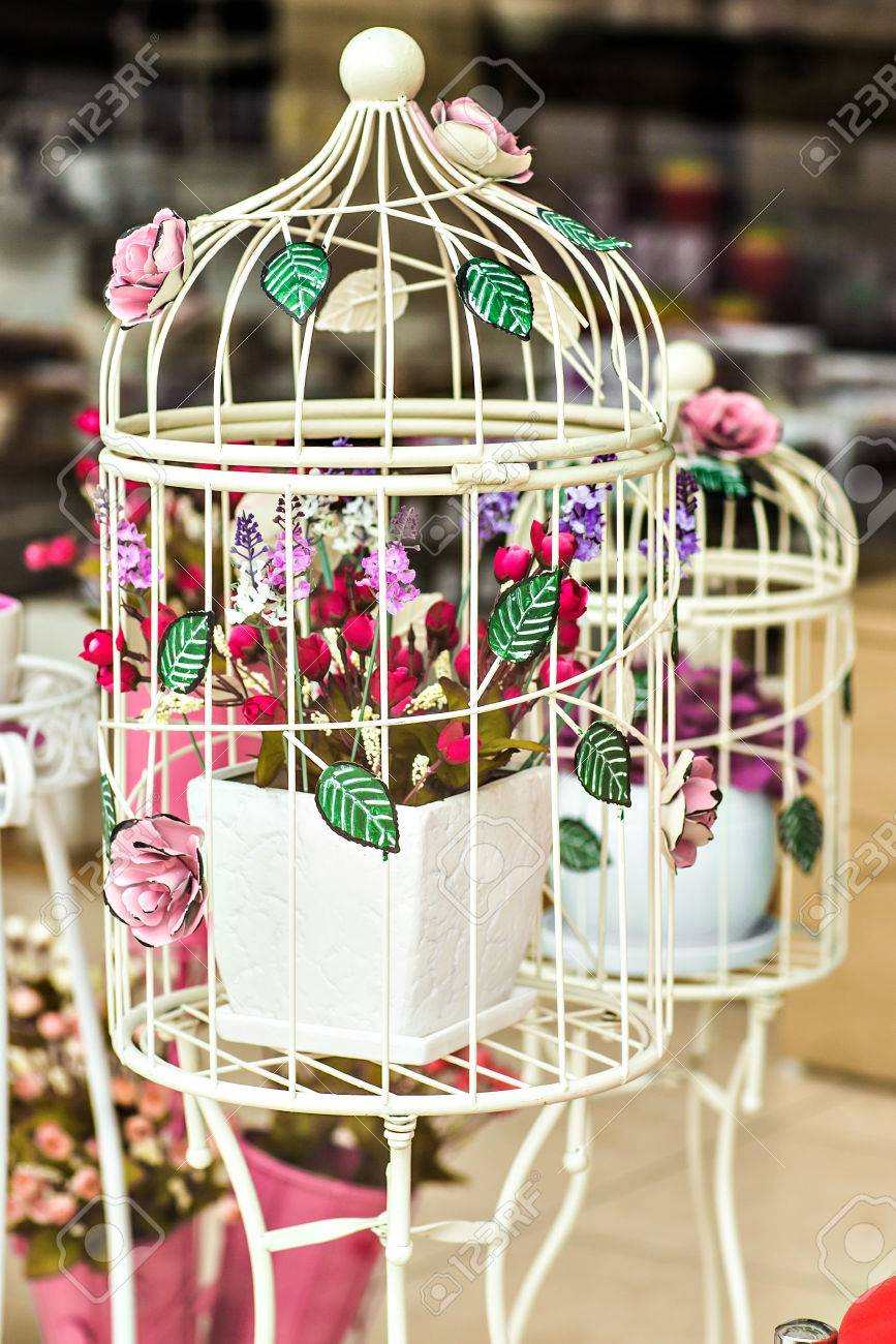 Wedding Decor Beautiful Decorative Bird Cages In The Shop Stock