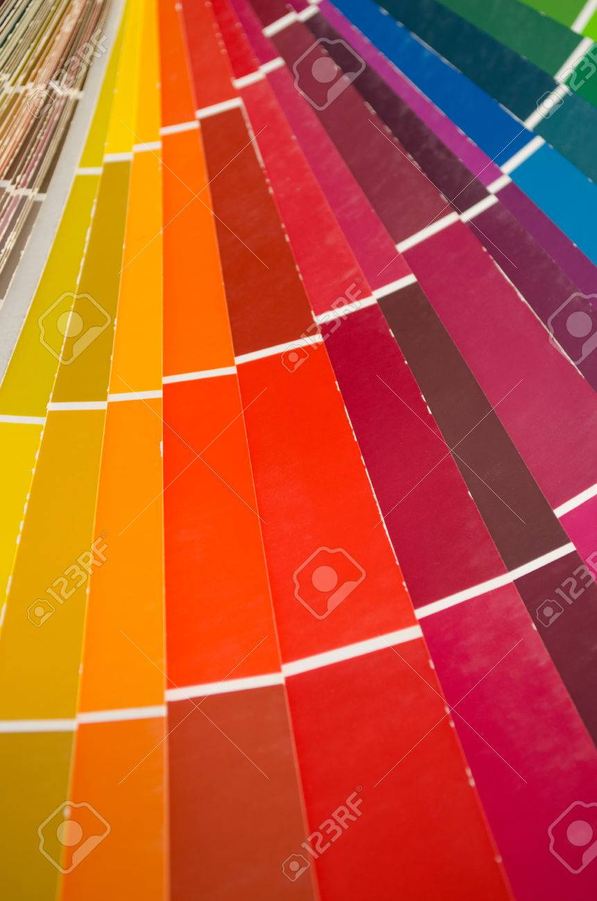 e46de945c6b2 color palette of various shades of red Stock Photo - 29084203