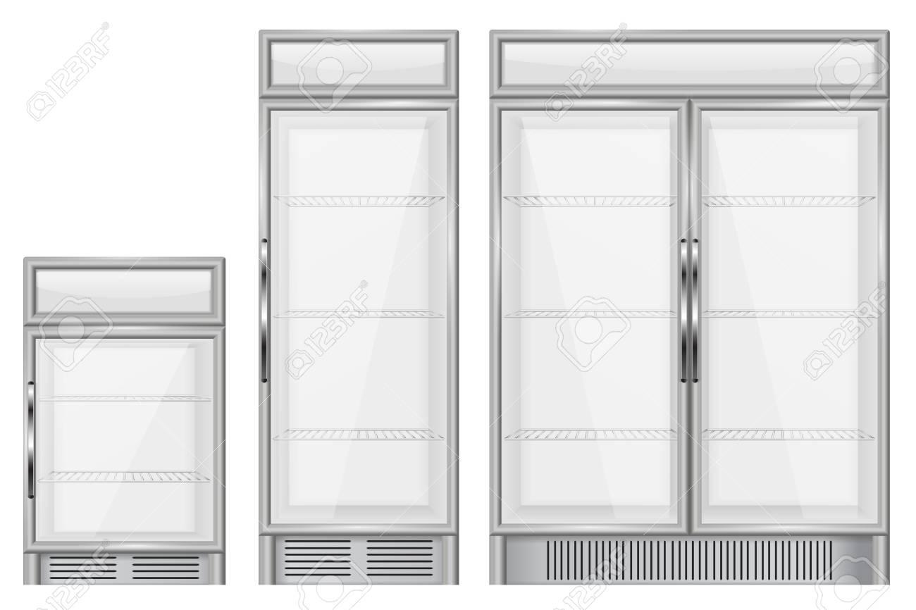 Display refrigerator. Set of commercial merchandisers - 76304506