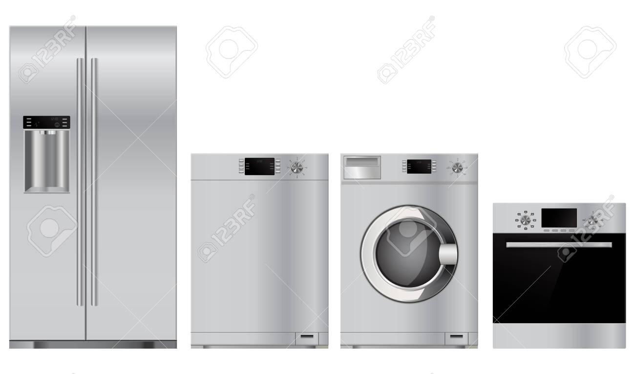 Home appliances set - 129553964