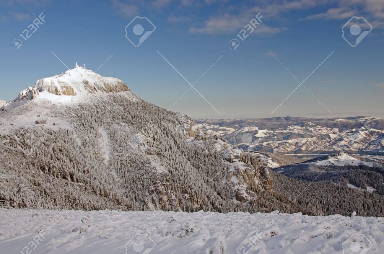 Mountain top, Ceahlau mountains in Romania Stock Photo - 17842330