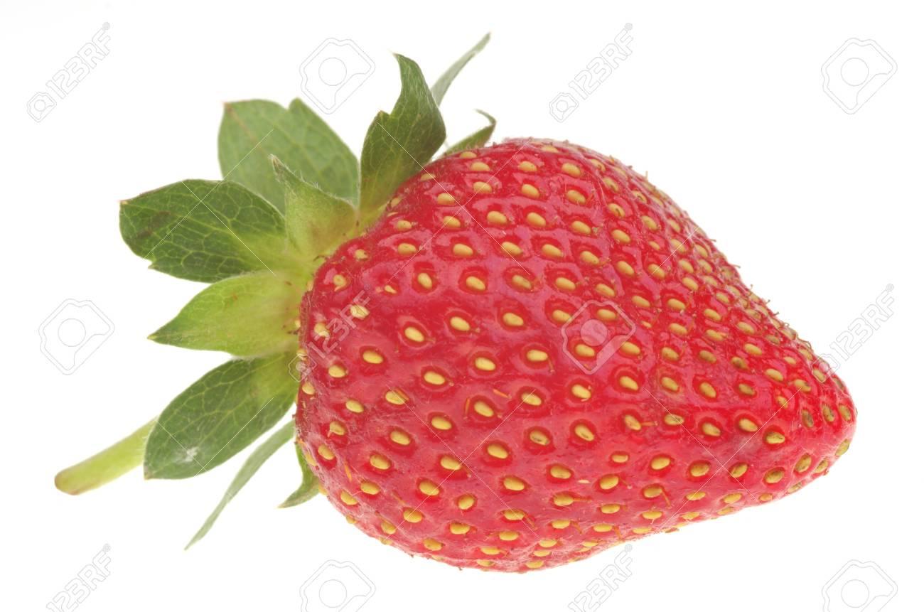 Fresh strawberry isolated on a white background Stock Photo - 21011865