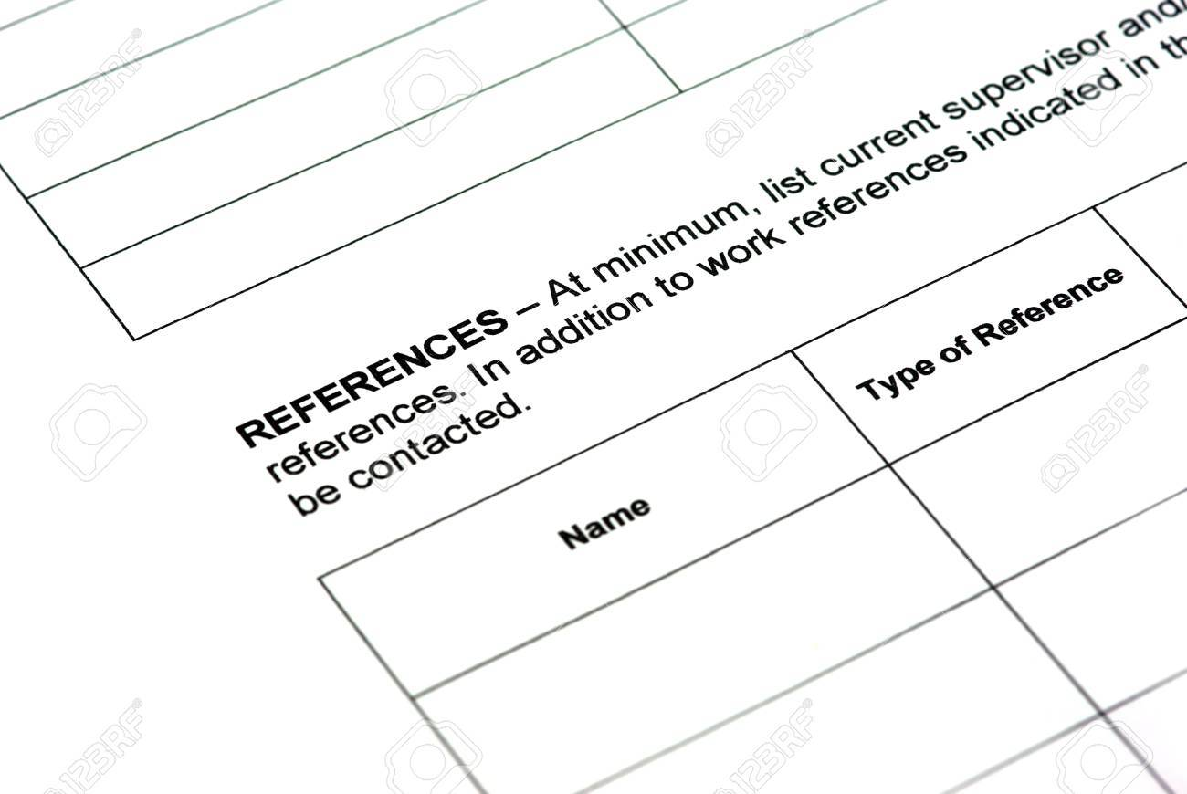 completing application form work references stock photo picture completing application form work references stock photo 24985318