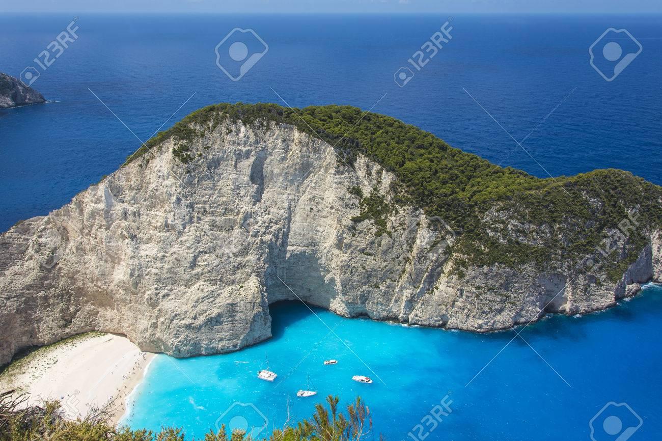 ザキントス島 (ギリシャ) にナバ...