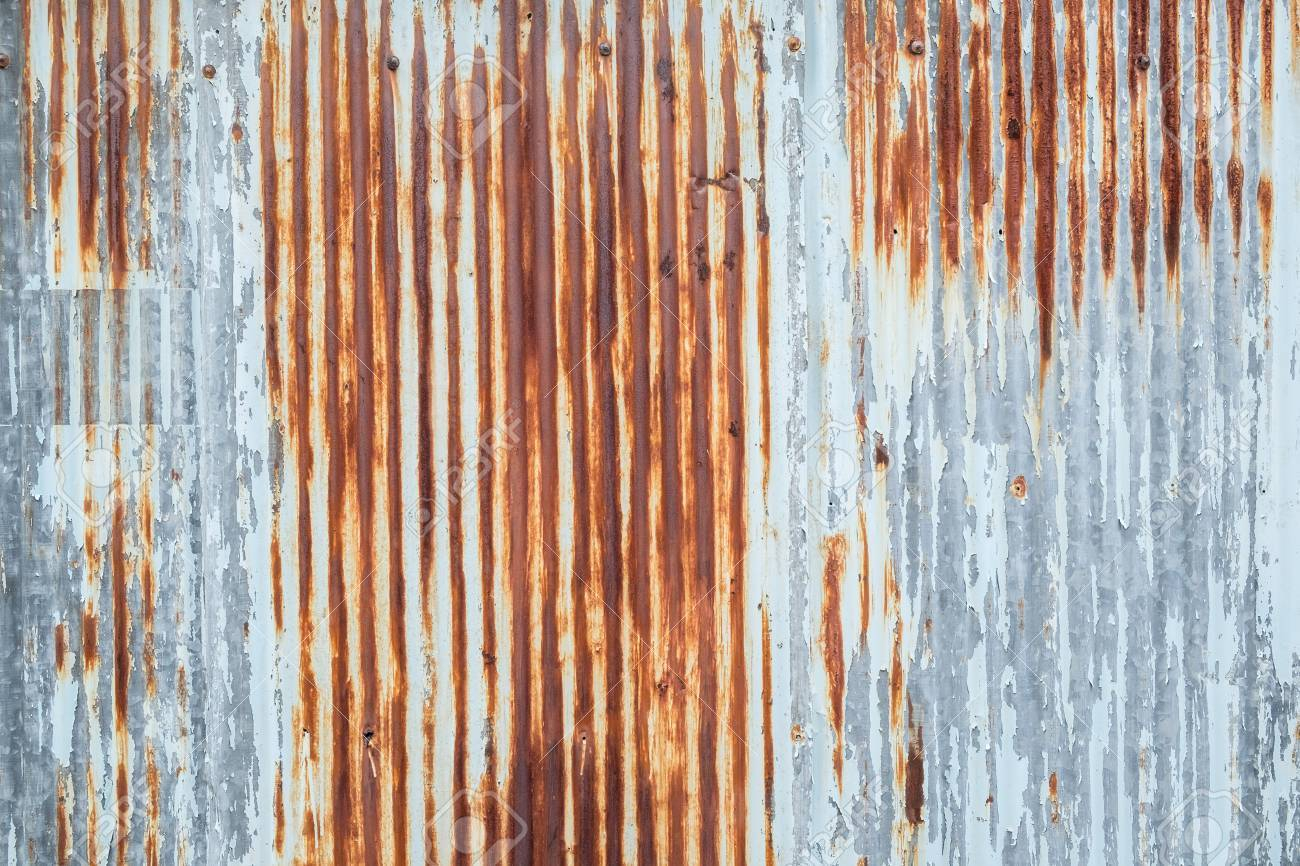 Old Metal Sheet Roof Texture Pattern Of Old Metal Sheet Metal Stock Photo Picture And Royalty Free Image Image 74589751