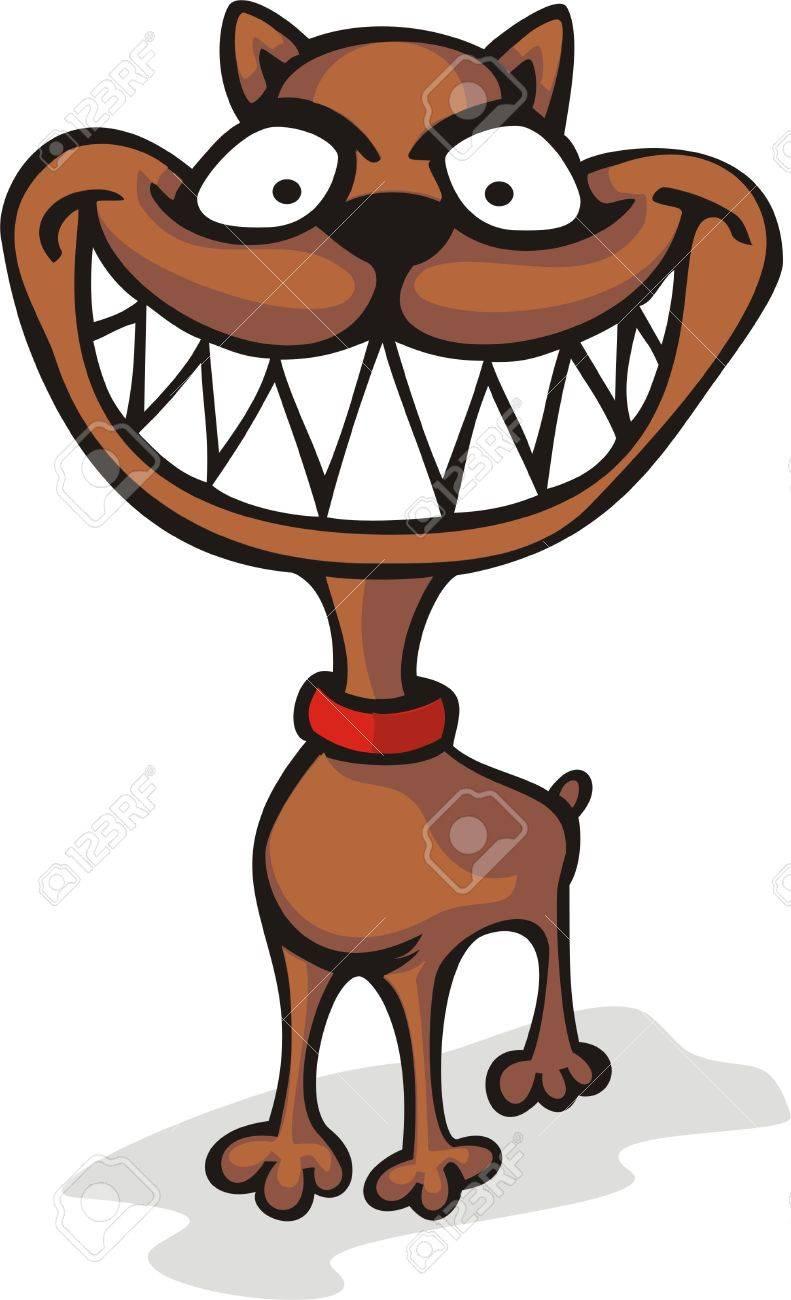 Malicious dog Stock Vector - 27141728