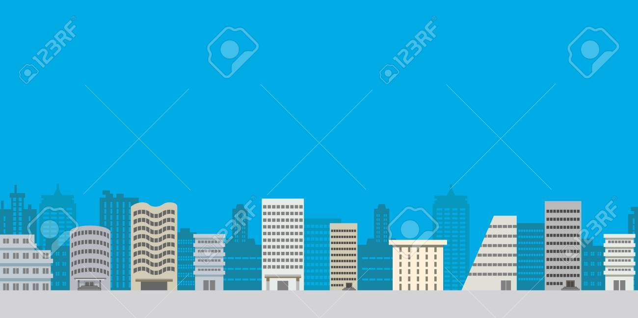 Building town,Lateral position Stock Vector - 13639116