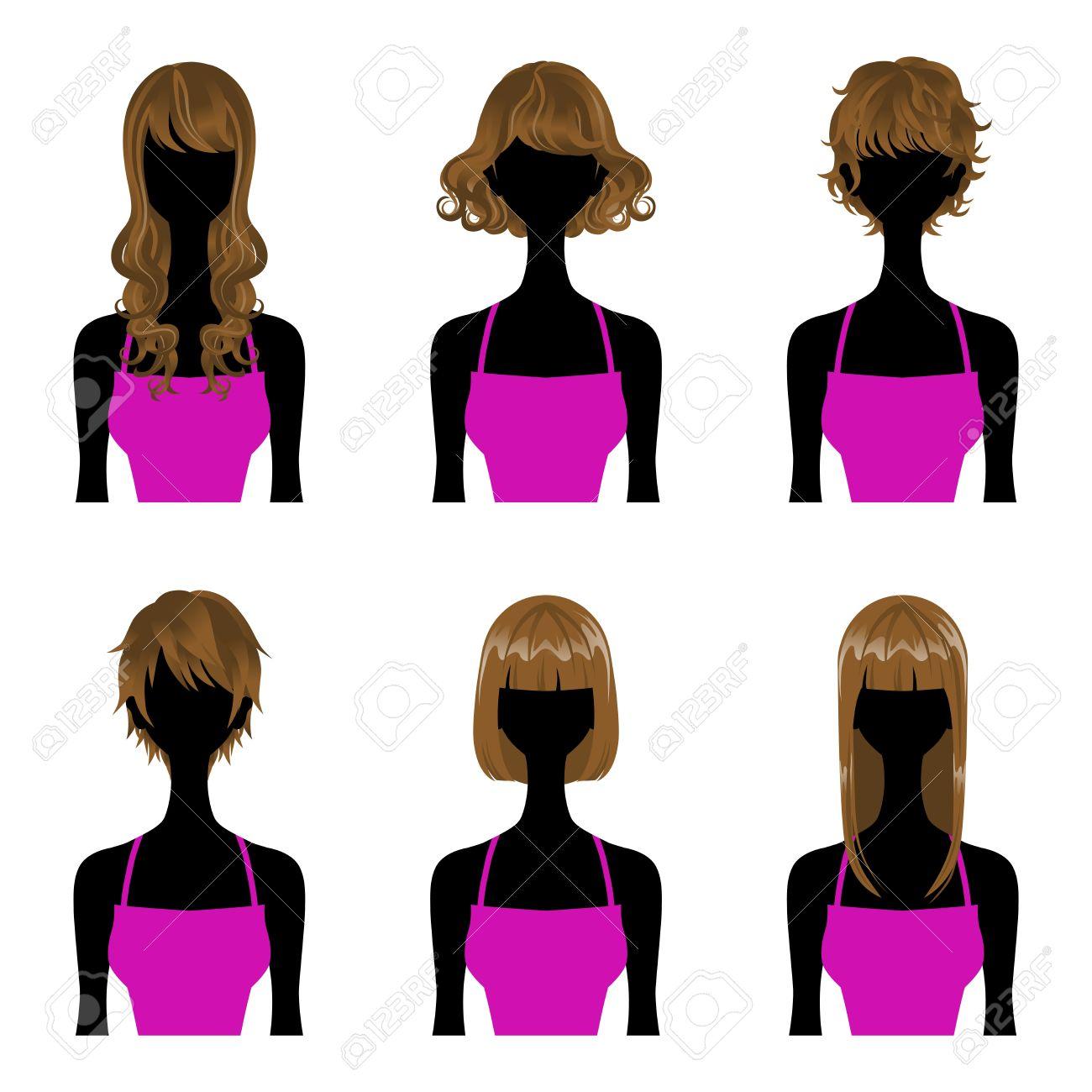 Haare kurz mittel lang Stufenschnitt Frisuren