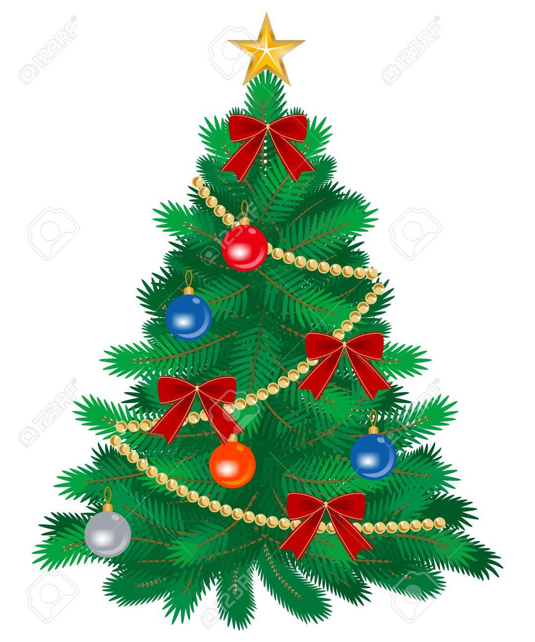Christmas tree decoration - 15965587