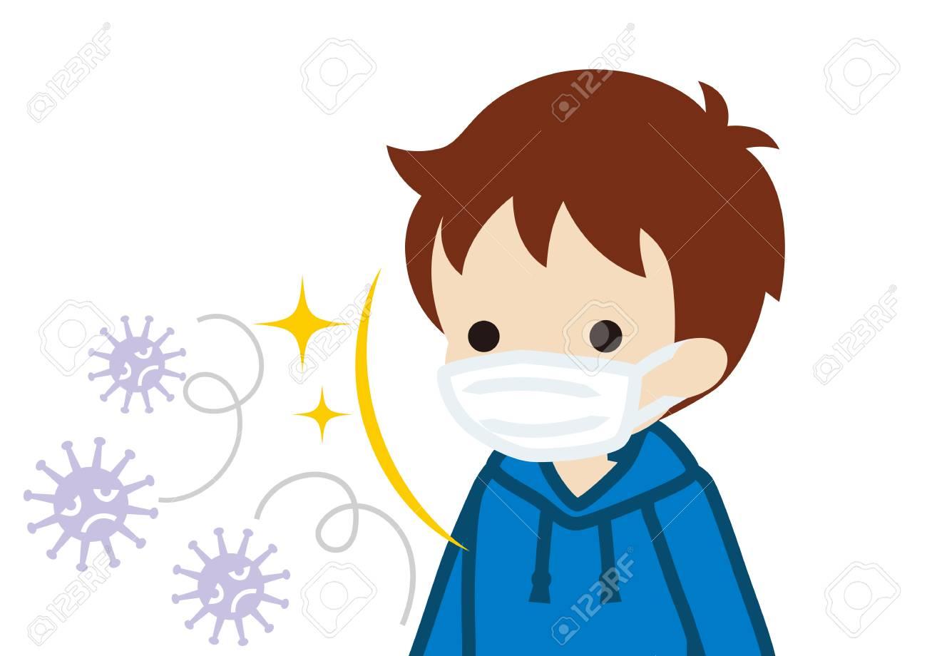For Prevent Wearing Virus Boy Toddler Mask A Flu